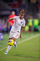 5th March 2020, Orlando, Florida, USA;  England forward Nikita Parris (7) controls the ball during the SheBelieves Cup match between England and the USA on March 5, 2020, at Exploria Stadium in Orlando FL.