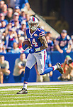 21 September 2014: Buffalo Bills wide receiver Sammy Watkins runs for yardage against the San Diego Chargers at Ralph Wilson Stadium in Orchard Park, NY. The Chargers defeated the Bills 22-10 in AFC play. Mandatory Credit: Ed Wolfstein Photo *** RAW (NEF) Image File Available ***