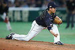 Kazuhisa Makita (JPN), <br /> MARCH 12, 2017 - WBC : 2017 World Baseball Classic Second Round Pool E Game between <br /> Japan 8-6 Netherlands <br /> at Tokyo Dome in Tokyo, Japan. <br /> (Photo by Sho Tamura/AFLO SPORT)