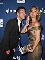 BEVERLY HILLS, CA - APRIL 12: Arielle Kebbel, Sterling Jones, At the 29th Annual GLAAD Media Awards at The Beverly Hilton Hotel on April 12, 2018 in Beverly Hills, California. <br /> CAP/MPI/FS<br /> &copy;FS/MPI/Capital Pictures