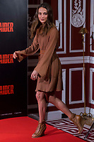 Swede actress Alicia Vikander attends to presentation of film 'Tomb Raider' at Santo Mauro Hotel in Madrid , Spain. February 28, 2018. (ALTERPHOTOS/Borja B.Hojas) /NortePhoto.com NORTEPHOTOMEXICO