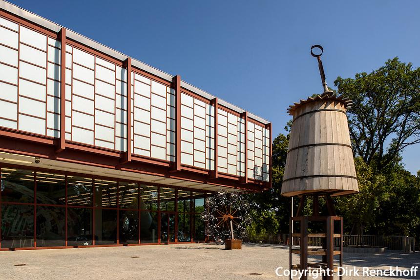 Museum 21er Haus,  &ouml;sterreichischer Pavillon zur Expo 58 in Br&uuml;ssel, Arsenalstr. 1, Wien, &Ouml;sterreich<br /> Museum 21er house, Austrian pavilion for Expo 58, Vienna, Austria