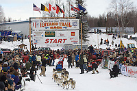 Bruce Linton Willow restart Iditarod 2008.