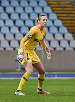 20190113 - LILLE , FRANCE : PSG's Katarzyna Kiedrzynek pictured during women soccer game between the women teams of Lille OSC and Paris Saint Germain  during the 16 th matchday for the Championship D1 Feminines at stade Lille Metropole , Sunday 13th of January 2019,  PHOTO Dirk Vuylsteke | Sportpix.Be
