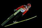 Simon Ammann of Switzerland during the Men's Normal Hill Individual of the 2014 Sochi Olympic Winter Games at Russki Gorki Ski Juming Center on February 9, 2014 in Sochi, Russia. Photo by Victor Fraile / Power Sport Images