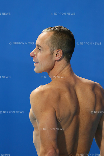 Bill May (USA), JULY 30, 2015 - Synchronised Swimming : 16th FINA World Championships Kazan 2015 Mixed Duets Free Routine Final at Kazan Arena in Kazan, Russia. (Photo by Yohei Osada/AFLO SPORT)
