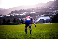 Action from the Wellington Jubilee Cup premier club rugby match between Old Boys University and Northern United at Nairnville Park in Wellington, New Zealand on Saturday, 21 July 2018. Photo: Dave Lintott / lintottphoto.co.nz