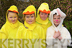 BRIGHT: Wearing their Bunny Rabbits outfits to march in the St Patrick's Day Parade in Ballyduff on Monday were: Eva Joy,Jasmine Griffin,Aoife Allen and Shannon Mannix. ..   Copyright Kerry's Eye 2008
