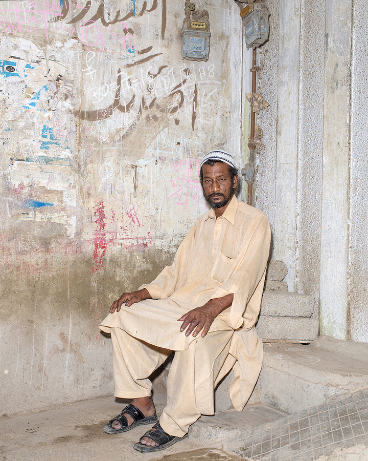 Mohammad Babul, a tannery worker from Karachi, and a member of a tanneries labor union.