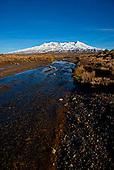 Mt Ruapehu, Central Plateau, Tongariro National Park, North Island, New Zealand