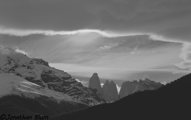 Torres del Paine, Late Afternoon