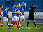 Cowdenbeath dejection at the end