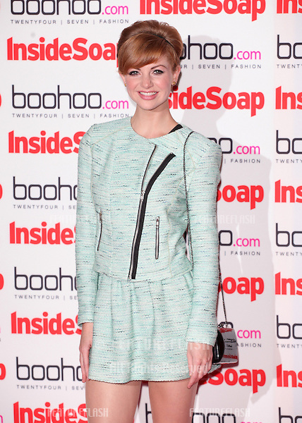 Lucy Dixon arriving for the 2012 Inside Soap Awards, at No.1 Marylebone, London. 24/09/2012 Picture by: Alexandra Glen / Featureflash