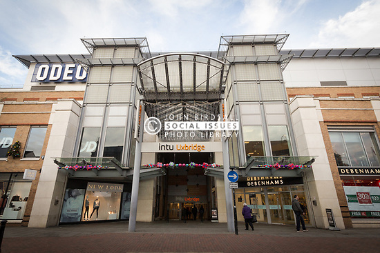 Intu shopping centre in Uxbridge, London Borough of Hillingdon, West London UK