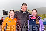John Patrick and Aoife O'Connor Dooks at the Rossbeigh races on Sunday