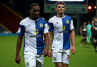 Blackburn Rovers at the end of todays match<br /> <br /> Photographer Rachel Holborn/CameraSport<br /> <br /> EFL Checkatrade Trophy - Northern Section Group C - Blackburn Rovers v Bury - Tuesday 3rd October 2017 - Ewood Park - Blackburn<br />  <br /> World Copyright &copy; 2018 CameraSport. All rights reserved. 43 Linden Ave. Countesthorpe. Leicester. England. LE8 5PG - Tel: +44 (0) 116 277 4147 - admin@camerasport.com - www.camerasport.com