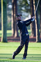 Emiliano Grillo (ARG) hits his approach shot on 2 during round 1 of the Honda Classic, PGA National, Palm Beach Gardens, West Palm Beach, Florida, USA. 2/23/2017.<br /> Picture: Golffile | Ken Murray<br /> <br /> <br /> All photo usage must carry mandatory copyright credit (&copy; Golffile | Ken Murray)