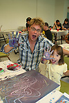 Billy Magnussen paints at the 11th Annual SoapFest - Painting Party to benefit Marco Island YMCA, theatre program & Art League of Marco Island on May 2, 2009 on Marco Island, FLA. (Photo by Sue Coflin/Max Photos)