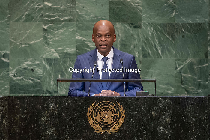 His Excellency Robert DUSSEY Minister of State, Minister for Foreign Affairs, Cooperation and Regional Integration of Togo