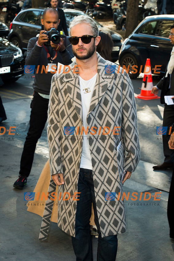 Paolo Stella Chanel s fashion show arrivals - Paris - 04/10/2016 <br /> Foto Panoramic / Insidefoto