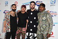 Rudimental in the press room for the Capital Summertime Ball 2018 at Wembley Arena, London, UK. <br /> 09 June  2018<br /> Picture: Steve Vas/Featureflash/SilverHub 0208 004 5359 sales@silverhubmedia.com
