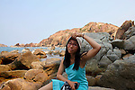 Phuong Mai Peninsula, near Quy Nhon, Vietnam. April 26, 2016.