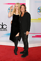 LOS ANGELES, CA - NOVEMBER 19: Nicole Kidman, Keith Urban at the 2017 American Music Awards at Microsoft Theater on November 19, 2017 in Los Angeles, California. Credit: David Edwards/MediaPunch /NortePhoto.com