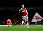 Arsenal's Granit Xhaka celebrates scoring his sides second goal during the premier league match at the Emirates Stadium, London. Picture date 22nd December 2017. Picture credit should read: David Klein/Sportimage