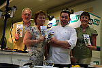 Paul Hussey(Chairperson), Margaret Reilly(Treasurer) and Bernadette Costello (Committee) withNeven Maguire at the Flogas Summer Barbeque Cookery Demonstration in the Boyne Valley Hotel, Drogheda in aid of..Photo NEWSFILE/Jenny Matthews.(Photo credit should read Jenny Matthews/NEWSFILE)....This Picture has been sent you under the condtions enclosed by:.Newsfile Ltd..The Studio,.Millmount Abbey,.Drogheda,.Co Meath..Ireland..Tel: +353(0)41-9871240.Fax: +353(0)41-9871260.GSM: +353(0)86-2500958.email: pictures@newsfile.ie.www.newsfile.ie.FTP: 193.120.102.198.