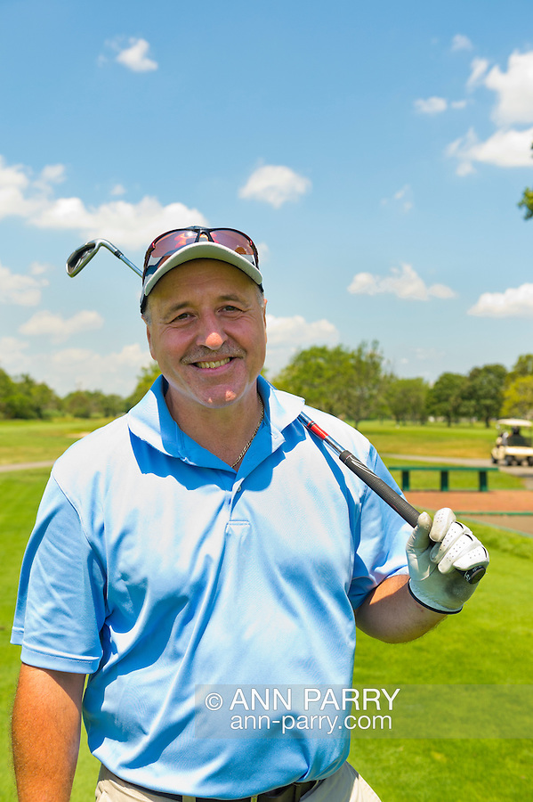 Oceanside, New York, USA. 2nd August 2013. DAVID GROHT, of Valley Stream, is golfing at South Bay Country Club.<br /> | You/Your Property in photo? Mention that when you use CONTACT page: http://ann-parry.photoshelter.com/contact