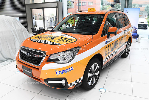 Gelande Taxi<br /> NOVEMBER 1, 2016 - Ski Jumping :<br /> 2016/2017 SAJ Team Japan TAKE OFF Press Conference<br /> at SUBARU STAR SQUARE, Tokyo, Japan.<br /> (Photo by AFLO SPORT)