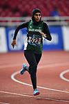 Alshehri Dana Salah (KSA), <br /> AUGUST 25, 2018 - Athletics : Women's 400m Qualification at Gelora Bung Karno Main Stadium during the 2018 Jakarta Palembang Asian Games in Jakarta, Indonesia. <br /> (Photo by MATSUO.K/AFLO SPORT)