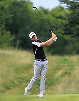 Laurie Canter (ENG) on the 4th tee during Round 1 of the D+D Real Czech Masters at the Albatross Golf Resort, Prague, Czech Rep. 31/08/2017<br /> Picture: Golffile | Thos Caffrey<br /> <br /> <br /> All photo usage must carry mandatory copyright credit     (&copy; Golffile | Thos Caffrey)