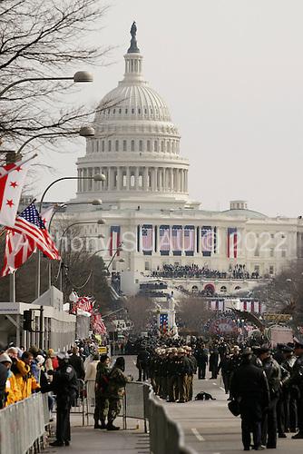 WASHINGTON DC - JANUARY 20: Heavy security along the parade route January 20, 2005 in Washington DC. (photo by Anthony Suau)