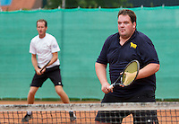 August 13, 2014, Netherlands, Raalte, TV Ramele, Tennis, National Championships, NRTK,  Hans Coesel/Bernard Jonkman<br /> Photo: Tennisimages/Henk Koster