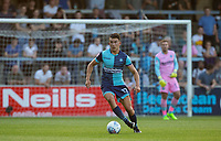 Luke O'Nien of Wycombe Wanderers during the Friendly match between Wycombe Wanderers and AFC Wimbledon at Adams Park, High Wycombe, England on 25 July 2017. Photo by Andy Rowland.