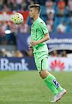 Getafe's Carlos Vigaray during La Liga match.September 22,2015. (ALTERPHOTOS/Acero)