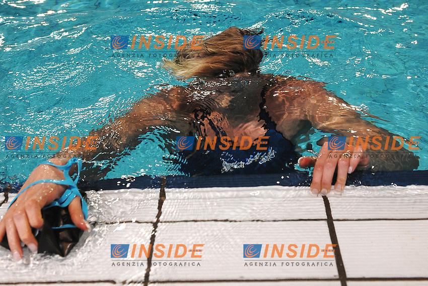Federica Pellegrini 200m stile libero donne .Riccione 12/04/2013 .Campionati Italiani Assoluti Nuoto Primaverili 2013.Foto Andrea Staccioli Insidefoto
