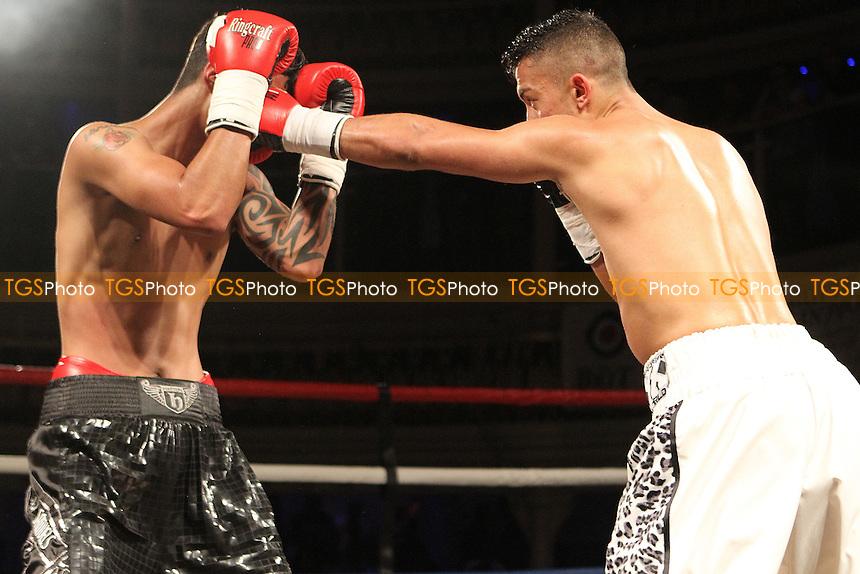 Michael McKinson vs Jerome Samuels- Boxing at O2 Academy, Bournemouth Dorset United Kingdom - 04/07/15 - MANDATORY CREDIT: Chris Royle/TGSPHOTO - Self billing applies where appropriate - contact@tgsphoto.co.uk - NO UNPAID USE