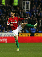 Wednesday 26 December 2012<br /> Pictured: Ki Sung-Yueng.<br /> Re: Barclays Premier League, Reading v Swansea City FC at the Madejski Stadium, Reading, Berkshire.