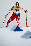 HOLMENKOLLEN, OSLO, NORWAY - March 16: Wilhelm Denifl of Austria (AUT) during the cross country 15 km (2 x 7.5 km) competition at the FIS Nordic Combined World Cup on March 16, 2013 in Oslo, Norway. (Photo by Dirk Markgraf)