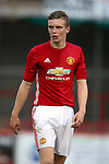 Ethan Hamilton of Manchester Utd during the U18 Premier League Merit Group A match at The J Davidson Stadium, Altrincham. Date 12th May 2017. Picture credit should read: Simon Bellis/Sportimage