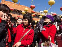 Hong-Kong, Chine, Asia, Asie, Wong Tai Sin is an area in Wong Tai Sin District, New Kowloon. Wong Tai Sin Temple, dedicated to Wong Tai Sin. ???.