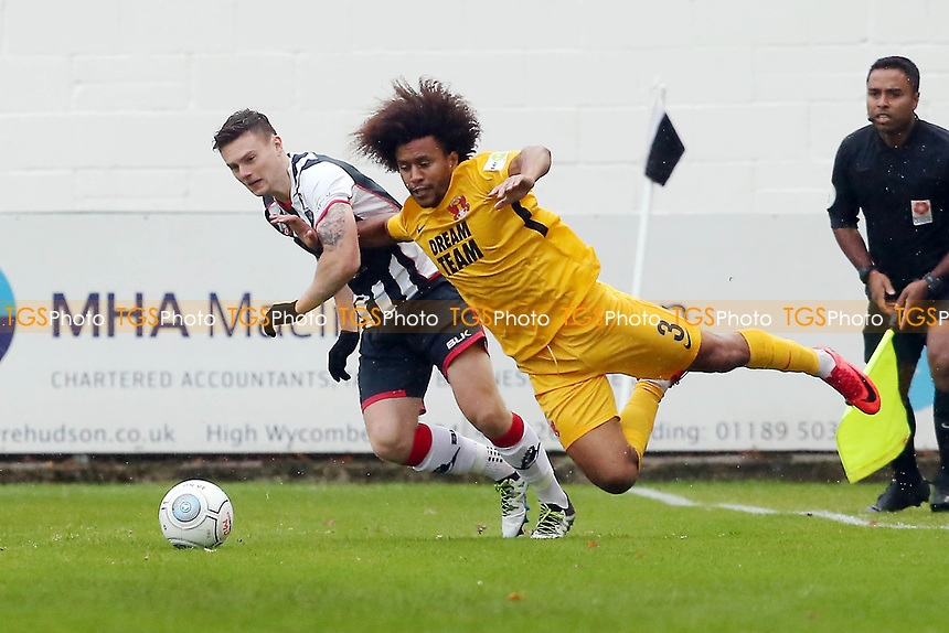 O's Joe Widdowson & Josh Kelly during Maidenhead United vs Leyton Orient, Vanarama National League Football at York Road on 6th October 2018