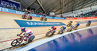 Picture by Allan McKenzie/SWpix.com - 06/01/2018 - Track Cycling - Revolution Champion Series 2017 - Round 3 - HSBC UK National Cycling Centre, Manchester, England - Matt Wall, Team Inspired, HSBC UK, Kalas, branding.