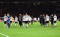 Siegesjubel Deutschland - 24.03.2019: Niederlande vs. Deutschland, EM-Qualifikation, Amsterdam Arena, DISCLAIMER: DFB regulations prohibit any use of photographs as image sequences and/or quasi-video.