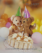 Interlitho, Alberto, CUTE ANIMALS, teddies, photos, 2 bears, cake(KL16297,#AC#)