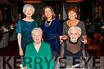 Enjoying the PROBUS An Riocht Christmas party in the Grand Hotel on Thursday night.Seated l to r: Vera O'Connor and Margaret Byrne.<br /> Back l to r: Ann Moloney, Lena O'Sullivan and Esther Wals