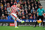 Marko Arnautovic of Stoke City scores his goal to make it 2-0<br /> - Barclays Premier League - Stoke City vs Manchester United - Britannia Stadium - Stoke on Trent - England - 26th December 2015 - Pic Robin Parker/Sportimage