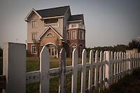 Suburban Residential Mansion in Jing Jin New Town, China.  © LAN